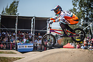 #192 (VAN DER BURG Dave) NED  at Round 9 of the 2019 UCI BMX Supercross World Cup in Santiago del Estero, Argentina