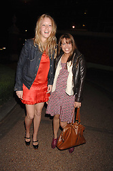 Left to right, ALICE ROTHSCHILD and WILLA KESWICK at the Quintessentially Summer Party at the Wallace Collection, Manchester Square, London on 6th June 2007.<br /><br />NON EXCLUSIVE - WORLD RIGHTS