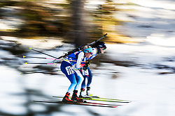 Elisa Gasparin (SUI) during the Women 15 km Individual Competition at day 2 of IBU Biathlon World Cup 2019/20 Pokljuka, on January 23, 2020 in Rudno polje, Pokljuka, Pokljuka, Slovenia. Photo by Peter Podobnik / Sportida