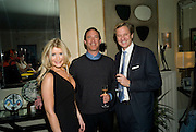 DR. KATE JAMES; andy kessler; ROB HERSOV  , Dinner hosted by Denise Estfandi, for the Council of the Serpentine Gallery to celebrate the opening of  Nancy Spero at the Serpentine Gallery. London.  Upper Brook house. 10a upper brook st.1 March 2011. -DO NOT ARCHIVE-© Copyright Photograph by Dafydd Jones. 248 Clapham Rd. London SW9 0PZ. Tel 0207 820 0771. www.dafjones.com.