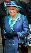 State Visit Queen Elizabeth to Germany, Frankfurt 25-06-2015
