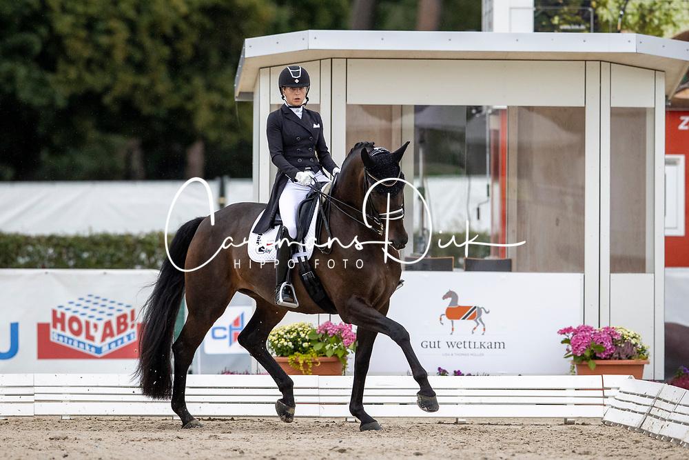 Stremler Beata, POL, Fuerstin Bea Old<br /> World Championship Young Horses Verden 2021<br /> © Hippo Foto - Dirk Caremans<br /> 27/08/2021