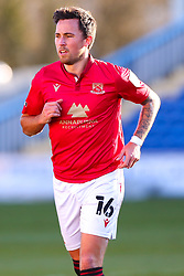 John O'Sullivan of Morecambe - Mandatory by-line: Ryan Crockett/JMP - 27/02/2021 - FOOTBALL - One Call Stadium - Mansfield, England - Mansfield Town v Morecambe - Sky Bet League Two