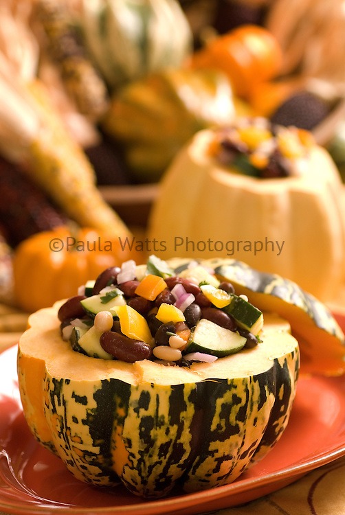Winter Squash and bean side dish