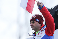 November 19, 2017 - Wisla, Poland - Polish team coach, Stefan Horngacher is seen during the individual competition during the FIS Ski Jumping World Cup on November 19, 2017 in Wisla, Poland. (Credit Image: © Foto Olimpik/NurPhoto via ZUMA Press)