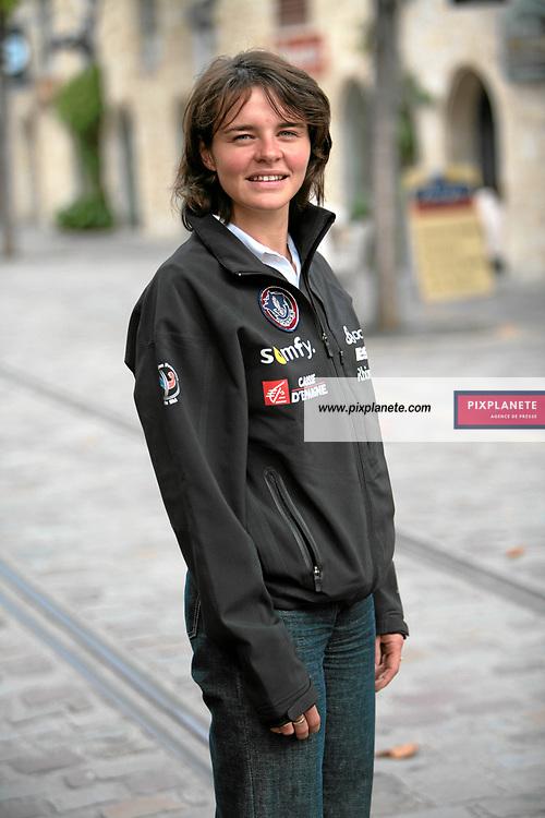 Sylvie Becaert - Biathlon - présentation de l'équipe de France de ski 2007-2008 - Photos exclusives - 9/10/2007 - JSB / PixPlanete