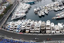 May 23, 2019 - Monte Carlo, Monaco - Motorsports: FIA Formula One World Championship 2019, Grand Prix of Monaco, ..#44 Lewis Hamilton (GBR, Mercedes AMG Petronas Motorsport), #10 Pierre Gasly (FRA, Aston Martin Red Bull Racing) (Credit Image: © Hoch Zwei via ZUMA Wire)