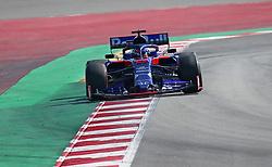 February 28, 2019 - Barcelona, Catalonia, Spain - the Toro Rosso of Alexander Albon during the Formula 1 test in Barcelona, on 28th February 2019, in Barcelona, Spain. (Credit Image: © Joan Valls/NurPhoto via ZUMA Press)