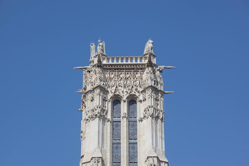 France. Paris.  Saint Jacques tower , / tour Saint Jacques