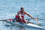 Caversham, Reading, . United Kingdom.   ASM1X. Tom AGGAR. GBRowingteam, Paralympic  Team  For 2016 Rio Games.   Tuesday,  19/07/2016,         [Mandatory Credit Peter Spurrier/