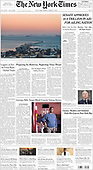 March 07, 2021 (USA): Front-page: Today's Newspapers In United States