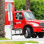 Vakantie 2015, Miami, Coca Cola truck