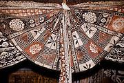 Polynesian tapa closth design