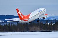 C-GANU departing for Ottawa