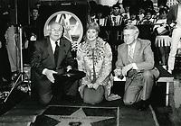 1986 Shirley Jones' Walk of Fame ceremony