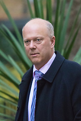 Downing Street, London, November 3rd 2015.  Leader of the House of Commons Chris Grayling arrives at 10 Downing Street to attend the weekly cabinet meeting. /// Licencing: Paul@pauldaveycreative.co.uk Tel:07966016296 or 020 8969 6875