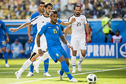 June 22, 2018 - Sankt Petersburg, Russia - 180622 Paulinho of Brazil during the FIFA World Cup group stage match between Brazil and Costa Rica on June 22, 2018 in Sankt Petersburg..Photo: Petter Arvidson / BILDBYRÃ…N / kod PA / 92075 (Credit Image: © Petter Arvidson/Bildbyran via ZUMA Press)