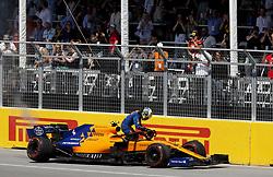 June 9, 2019 - Montreal, Canada - Motorsports: FIA Formula One World Championship 2019, Grand Prix of Canada, ..#4 Lando Norris (GBR, McLaren F1 Team) (Credit Image: © Hoch Zwei via ZUMA Wire)