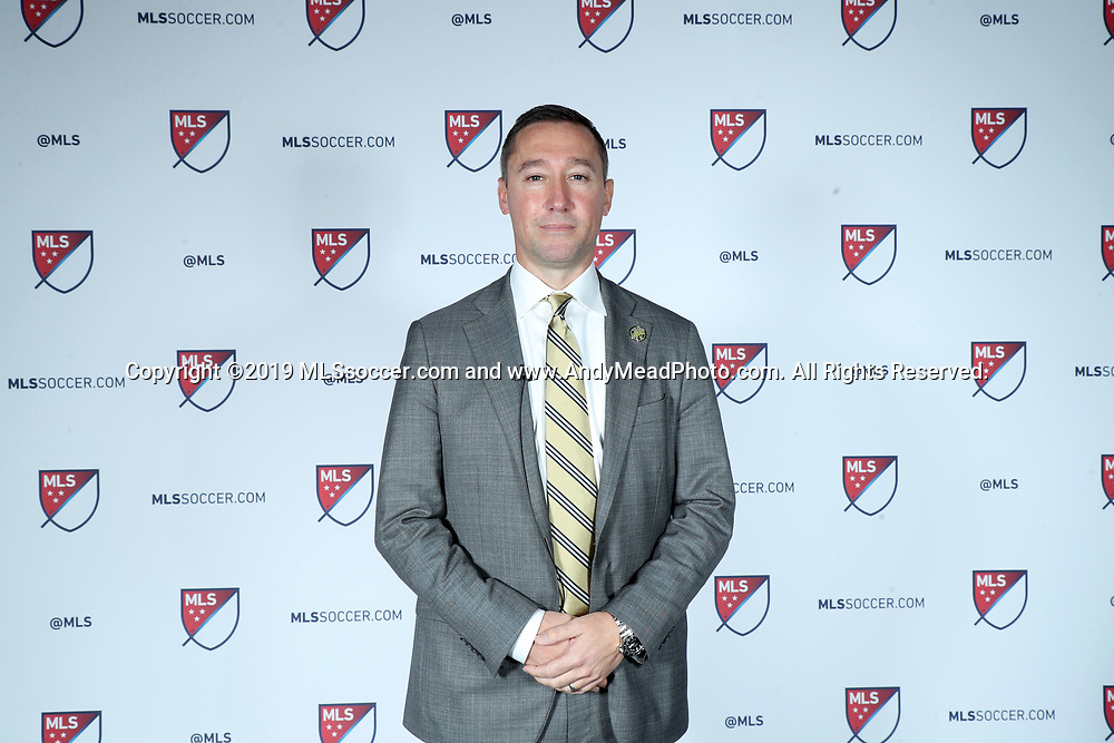 CHICAGO, IL - JANUARY 11: Columbus Crew SC head coach Caleb Porter. The MLS SuperDraft 2019 presented by adidas was held on January 11, 2019 at McCormick Place in Chicago, IL.
