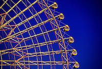 Big ferris wheel, Minato Mirai 21 waterfront area, Yokohama, Japan