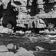 The Colorado River At Lee's Ferry, The Grand Canyon Begins