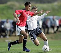 Fotball / Football<br /> International U 17 Team Tournament<br /> Norge v Polen 3-1<br /> Norway v Poland 3-1at La Manga - Spain<br /> Poland played in Norways white changing shirts<br /> 05.02.2007<br /> Foto: Morten Olsen, Digitalsport<br /> <br /> Harmeet Singh - Vålerenga