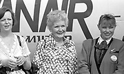 Photo: Don MacMonagle <br /> e: info@macmonagle.com The Opening of Kerry Airport on May 22nd 1989 with the arrival of Aer Lingus and Ryanair flights.<br /> Picture by Don MacMonagle