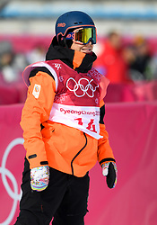 February 19, 2018 - Pyeongchang, SOUTH KOREA - 180219 Cheryl Maas of the Nederlands competes in the Women's Big Air Qualification during day ten of the 2018 Winter Olympics on February 19, 2018 in Pyeongchang..Photo: Carl Sandin / BILDBYRÃ…N / kod CS / 57999_306 (Credit Image: © Carl Sandin/Bildbyran via ZUMA Press)