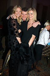 Left to right, JODIE KIDD, JACK KIDD and JEMMA KIDD at the Holders Season Barbados Comes to London night at the Landmark Hotel, Marylebone Rd, London on 1st February 2007.<br /><br />NON EXCLUSIVE - WORLD RIGHTS