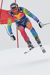 20.01.2011, Hahnenkamm, Kitzbuehel, AUT, FIS World Cup Ski Alpin, Men, Training, im Bild // Mirko Deflorian (MDA) // during the men´s downhill training run at the FIS Alpine skiing World cup in Kitzbuehel, EXPA Pictures © 2011, PhotoCredit: EXPA/ S. Zangrando