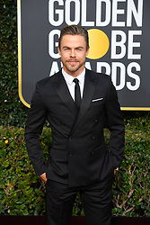 January 6, 2019 - Los Angeles, California, U.S. - Derek Hough during red carpet arrivals for the 76th Annual Golden Globe Awards at The Beverly Hilton Hotel. (Credit Image: © Kevin Sullivan via ZUMA Wire)