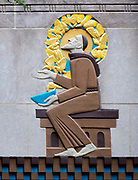 """The Story of Mankind"" at Rockefeller Center, NYC"