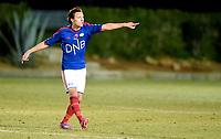 Fotball , 18. februar 2015 ,  privatkamp  <br /> Vålerenga  - AGF 0-0<br /> Mattias Totland ,  VIF
