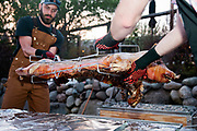 Welcome dinner for Cody Curran and John Work at Chalet View Lodge in Greagle, Calif., Friday, May 10, 2019.<br /> <br /> Photo by Adm Golub/Alison Yin Photography