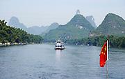 China, Yangshuo County, Li River Karst formations