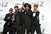 June 30, 2012-Los Angeles, CA : Recording Artists Mindless Behavior  attends the 2012 BET Awards- Media Room held at the Shrine Auditorium on July 1, 2012 in Los Angeles. The BET Awards were established in 2001 by the Black Entertainment Television network to celebrate African Americans and other minorities in music, acting, sports, and other fields of entertainment over the past year. The awards are presented annually, and they are broadcast live on BET. (Photo by Terrence Jennings)