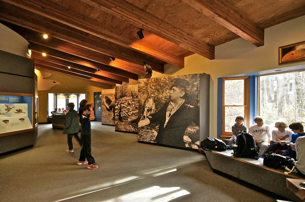 Hawk Mountain Sanctuary, Visitors' Center, Berks Co., PA