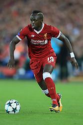 23rd August 2017 - UEFA Champions League - Play-Off (2nd Leg) - Liverpool v 1899 Hoffenheim - Sadio Mane of Liverpool - Photo: Simon Stacpoole / Offside.