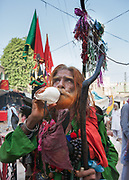 Every year, an estimated one million pilgrims gather in the small desert town of Sehwan Sharif in Pakistan's Sindh province to celebrate the world's biggest Sufi Festival.