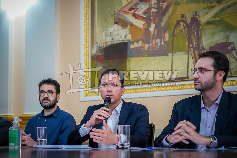 Porto Alegre, RS - 16/03/2020: Coletiva de imprensa sobre novas medidas de proteção contra o Coronavírus. FOTO: Jefferson Bernardes/PMPA