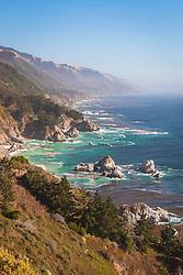 McWay Rocks, Julia Pfeiffer Burns State Park, Big Sur coast, California, USA, Pacific Ocean