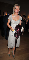 The COUNTESS OF DERBY at fundraising dinner and auction in aid of Liver Good Life a charity for people with Hepatitis held at Christies, King Street, London on 16th September 2009.