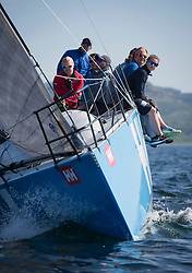 Sailing - SCOTLAND  - 28th May 2018<br /> <br /> Final days racing the Scottish Series 2018, organised by the  Clyde Cruising Club, with racing on Loch Fyne from 25th-28th May 2018<br /> <br /> GBR 732R, Wildebeeste, Craig Latimer, Ker 32<br /> <br /> Credit : Marc Turner<br /> <br /> Event is supported by Helly Hansen, Luddon, Silvers Marine, Tunnocks, Hempel and Argyll & Bute Council along with Bowmore, The Botanist and The Botanist