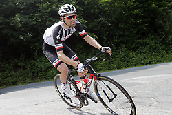 May 26, 2018 - Cervinia, ITALY - Dutch Tom Dumoulin of Team Sunweb pictured in action during stage 20 of the 101st edition of the Giro D'Italia cycling tour, 214km from Susa to Cervinia, Italy, Saturday 26 May 2018...BELGA PHOTO YUZURU SUNADA FRANCE OUT (Credit Image: © Yuzuru Sunada/Belga via ZUMA Press)