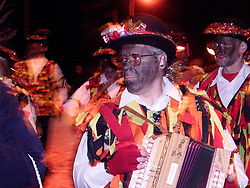 Wath Morris Men  in inprosession on thier way to Wath Town Square on Sunday Nightas part of the Wath Fire Festival<br /><br />Sunday23-12-2001