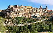 hill town of  Ragusa Ibla, Sicily .<br /> <br /> Visit our SICILY HISTORIC PLACES PHOTO COLLECTIONS for more   photos  to download or buy as prints https://funkystock.photoshelter.com/gallery-collection/2b-Pictures-Images-of-Sicily-Photos-of-Sicilian-Historic-Landmark-Sites/C0000qAkj8TXCzro