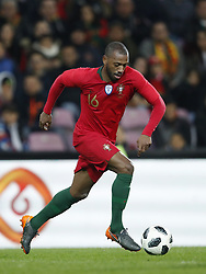 Manuel Fernandes of Portugal during the International friendly match match between Portugal and The Netherlands at Stade de Genève on March 26, 2018 in Geneva, Switzerland