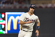Joe Mauer #7 of the Minnesota Twins rounds 3rd base during a game against the Chicago White Sox on June 19, 2013 at Target Field in Minneapolis, Minnesota.  The Twins defeated the White Sox 7 to 4.  Photo: Ben Krause