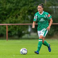 02.08.2020, wohninvest Weserstadion Platz 12, Bremen, GER,FSP, FLYERALARM, FFBL SV Werder Bremen vs  SV Henstedt-Ulzburg, <br /> <br /> <br /> <br />  im Bild<br /> <br /> Jasmin Sehan (WerderBremen15)<br /> <br /> Foto © nordphoto / Kokenge