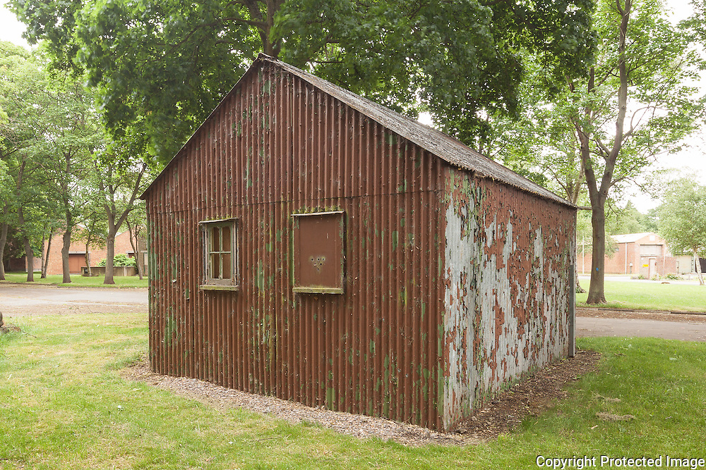 Building 88 Fire Party Hut. RAF Bicester